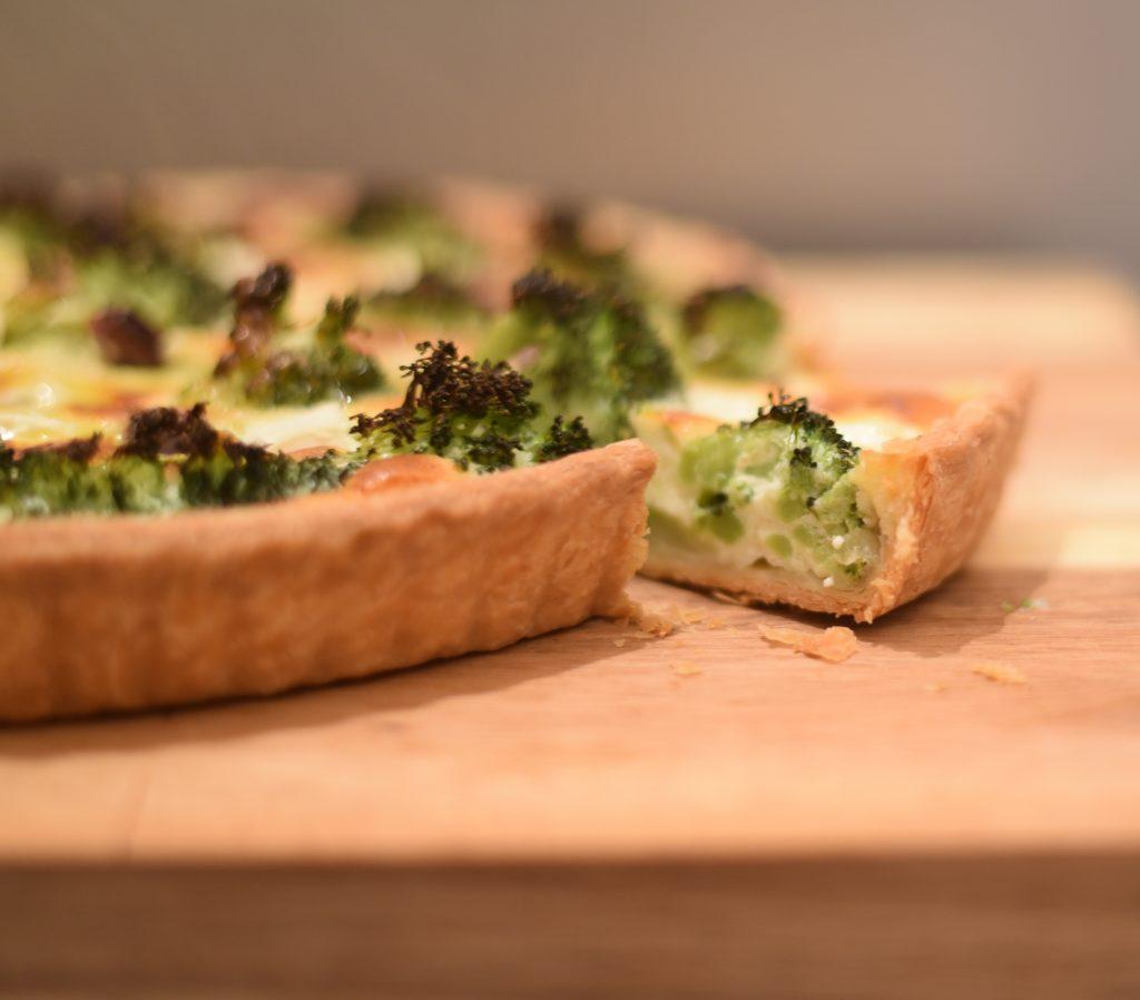 Feta and Broccoli Tart