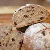 pecan and raisin bread
