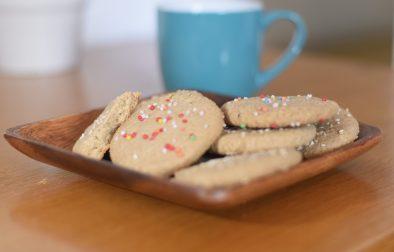 vegan tahini cookies