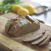 Sourdough Rye with walnuts bread