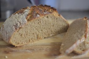 Double-fed Sourdough Rye