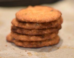 White ChocolateCranberry Cookies